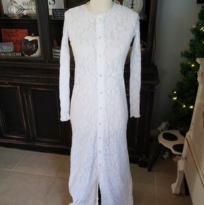 Vintage Jcpenney Lace Robe
